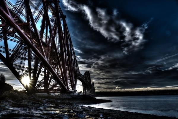 Forth Bridge at Dawn by Rockshifter