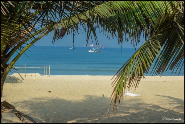 chill morning at panambur beach.....Mangalore days by rids123
