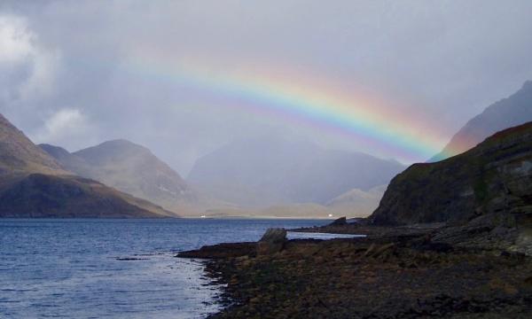 rainbow over Skye by jocas
