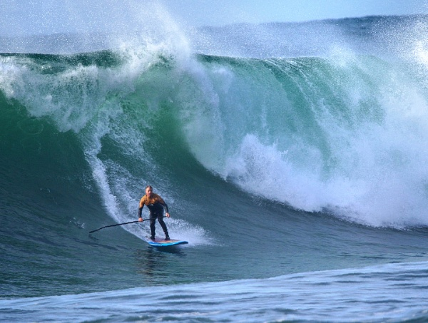 Pete Edkins SUP by Hedoman