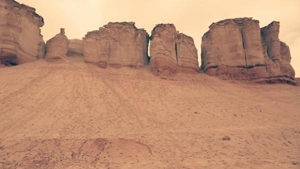 Desert Mountain by Premjeet2017