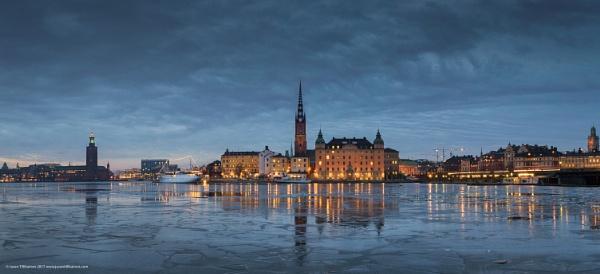 Stockholm Cityscape by Saturnbeats