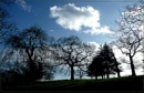 clouds and silhouettes at Alexandra Palace by CarolG
