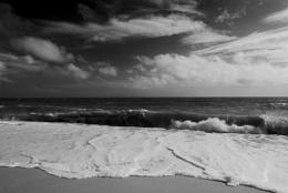 Sea and foam