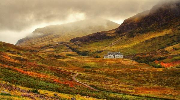 Glen Coe, Highlands of Scotland by LesleyWalter