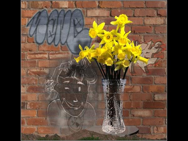 Blooming Graffiti Cropped by Otinkyad