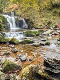 Caerfanell Falls