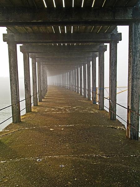 Beneath the pier by PRE99