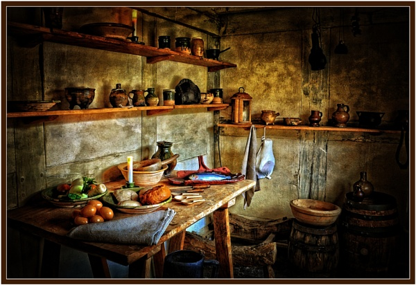 Country House Kitchen by PhilT2