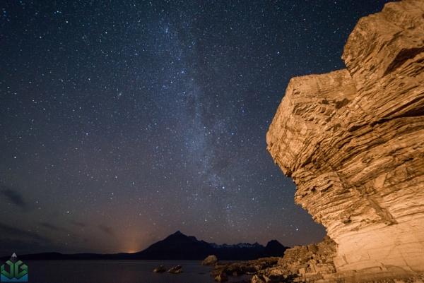 Elgol Night Sky by jamesgrant