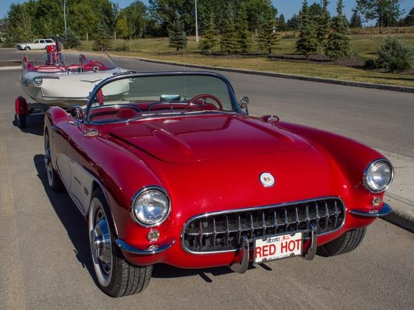 \'56 Corvette by StrayCat