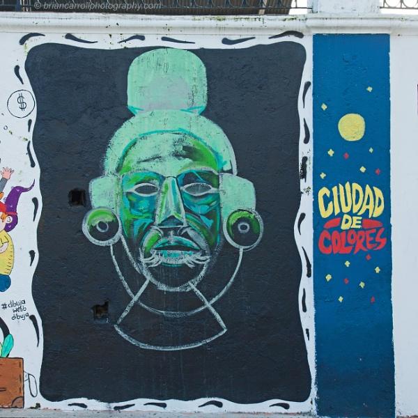 Wall Art. San Jose, Costa Rica by brian17302