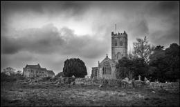 The Church of St Peter and St Paul, Muchelney, Somerset