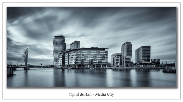 Media City - Salford Quays by Philpot
