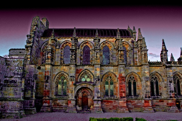 Rosslyn Chapel by Eckyboy