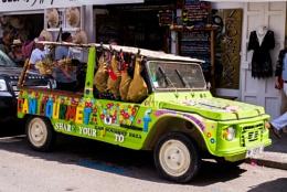 Citroen Mehari in Ibiza town, Ibiza