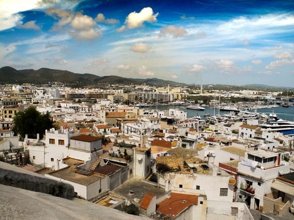 Ibiza Town, Ibiza by nikonphotographer