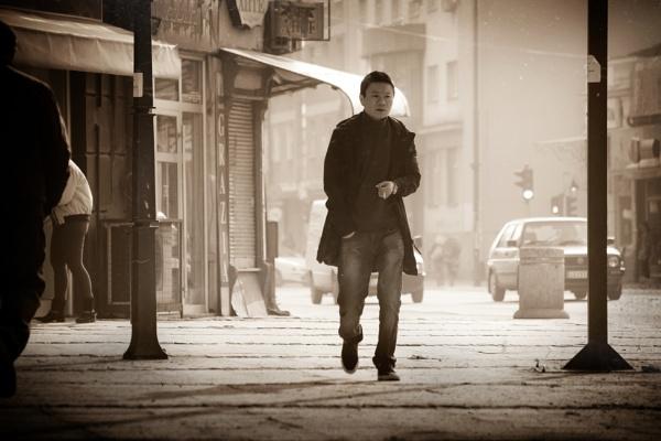 Urban Scene LXXXII by MileJanjic