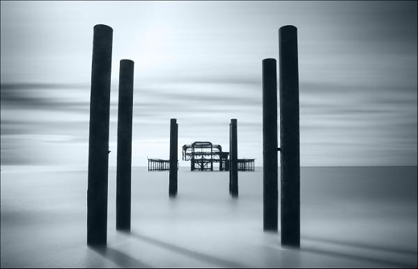 Brighton West Pier by Les_Cornwell