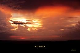 The Beautiful Colors Of Sundown