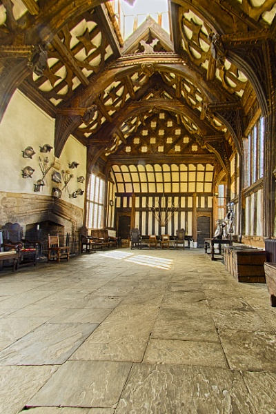 Rufford Old Hall Great Hall by kip55
