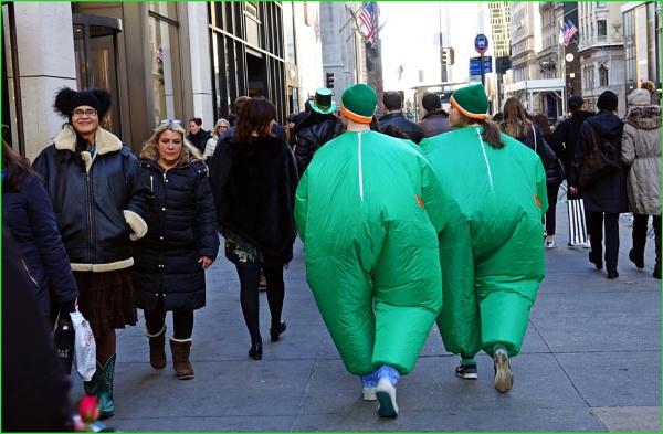 *** St Patrick Day parade Costume *** by Spkr51