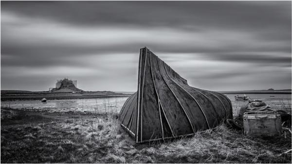 Lidisfarne Boat Shed by Somerled7