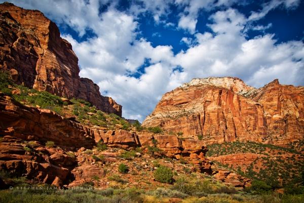Mother Road LXXXVII - Zion Rocks by Stephen_B