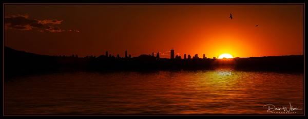 Benidorm Sunset by whitehall55