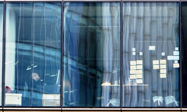 Office Reflections by RysiekJan