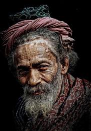 transient hindu pilgrim in Haridwar