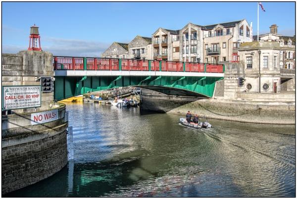 The Weymouth Lifting Bridge by TrevBatWCC