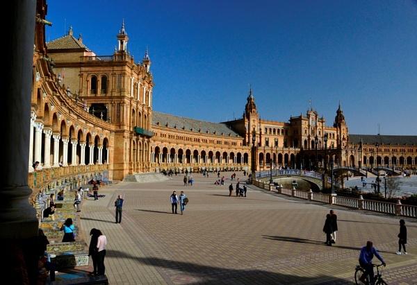 Palace de Espania, Seville by peterthowe