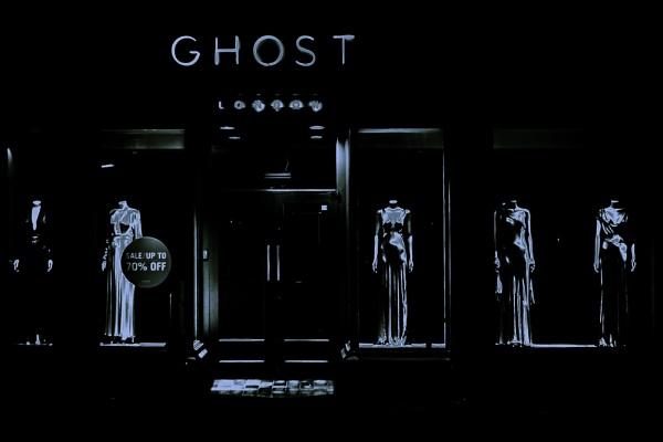 Ghost on Kings Rd by JackAllTog