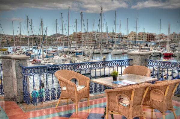 Las Galletas marina by PRE99