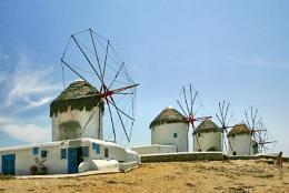Wednesday Windmills of Mykonos