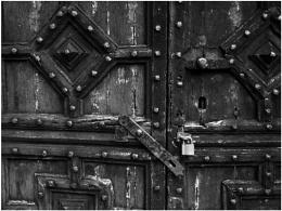 Old St. Chad's Door