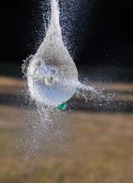 A dart through the heart of the balloon