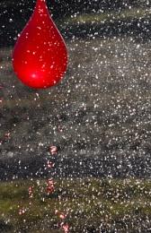 Photo : Water confetti