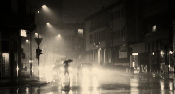 Urban Scene LXXXVII by MileJanjic