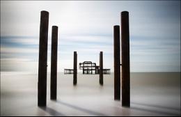 Brighton West Pier - colour version