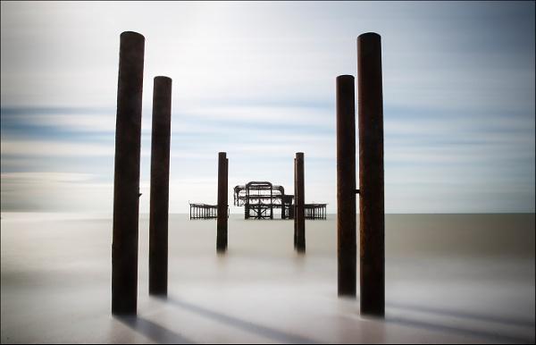 Brighton West Pier - colour version by Les_Cornwell