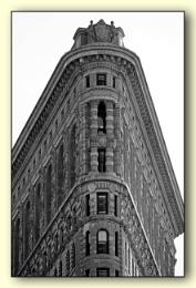 *** New York City landmark , The Flatiron Building ***