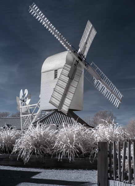 Thorpeness Windmill - Infrared by Rachel586