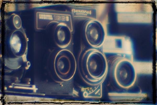 Old cameras by Zenonas