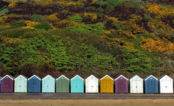 Beach Huts by RickNash