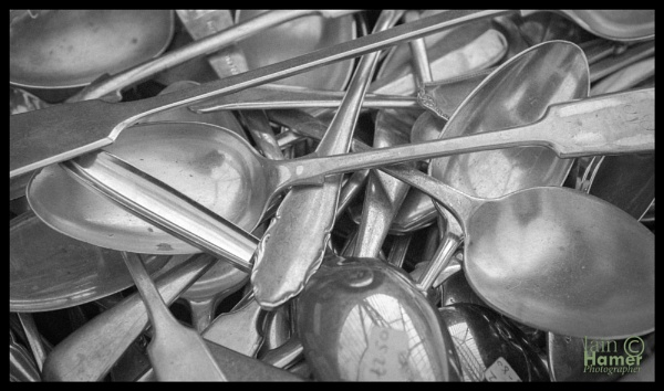 Silver spoons by IainHamer