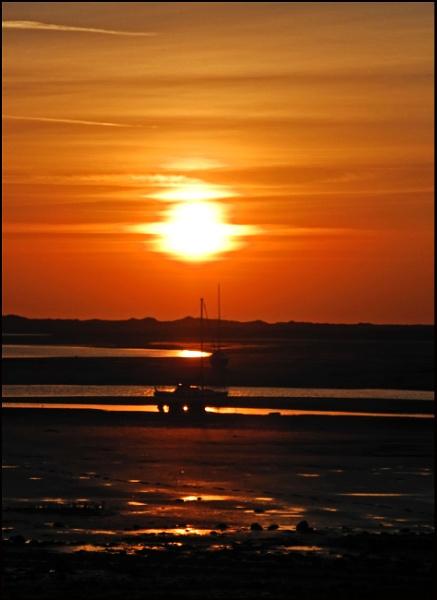 Ravenglass Sunset by Grumby