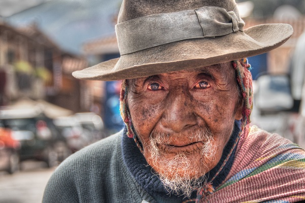 Old Man, Pisac by AndrewAlbert