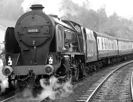 'Repton' leaves Grosmont for Pickering